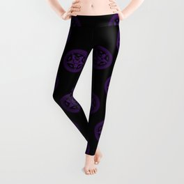 Sebastian Michaelis Sigil Dark (black bg) Leggings