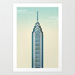 One Liberty Place - Philadelphia Art Print