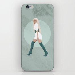 Green Marble iPhone Skin