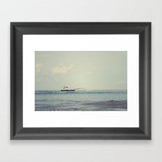 Oak Island  Framed Art Print