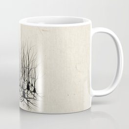 Pyramidal Neuron Forest Coffee Mug