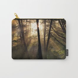 Coastal Forest Light Carry-All Pouch