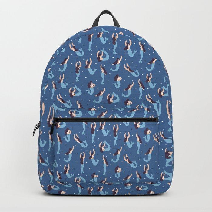 The Blue Mermaids Backpack