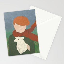Baby Lamb Stationery Cards
