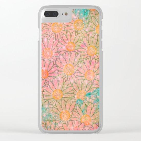 marguerite-128 Clear iPhone Case
