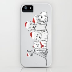 Christmas Dogs Slim Case iPhone (5, 5s)