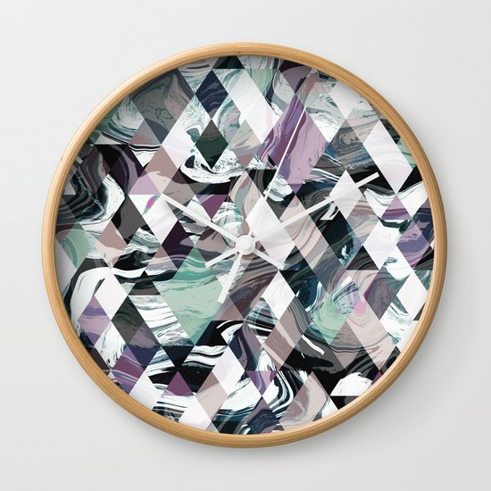 Diamond Rock Wall Clock