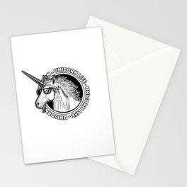 Unicorn Life Stationery Cards