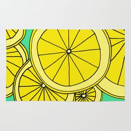 Lemons by Emma Freeman Designs Rug
