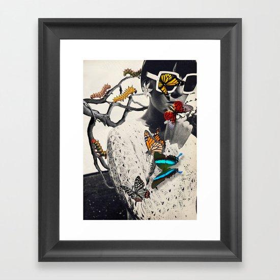 THE PROCESS Framed Art Print