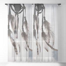 Catch My Dreams #1 #dreamcatcher #decor #art #society6 Sheer Curtain