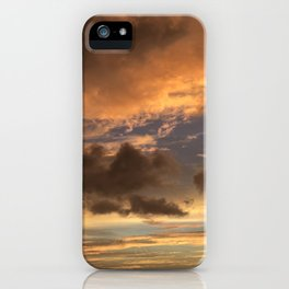 Golden Maui Skies iPhone Case
