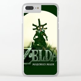 Zelda Mask Clear iPhone Case