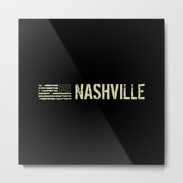 Black Flag: Nashville Metal Print