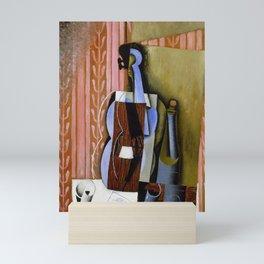 """Juan Gris """"Violin"""" Mini Art Print"""