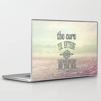 the cure Laptop & iPad Skins featuring The Cure for Anything  by secretgardenphotography [Nicola]