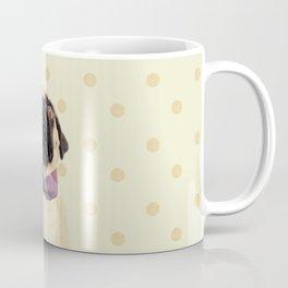 Polka Dot Pug Coffee Mug