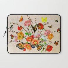 Butterfly Bouquet  Laptop Sleeve