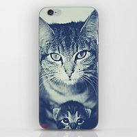 mom iPhone & iPod Skins featuring Mom by arnedayan