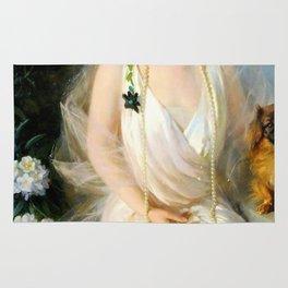 Portrait of Agnes Marsh Rug