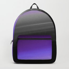 Purple Gray Black Smooth Ombre Backpack