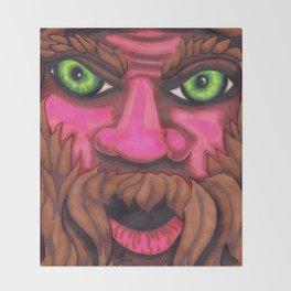 Forrest Grump - Mazuir Ross Throw Blanket