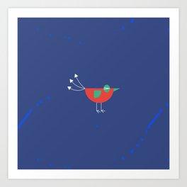 Birdie-6 Art Print