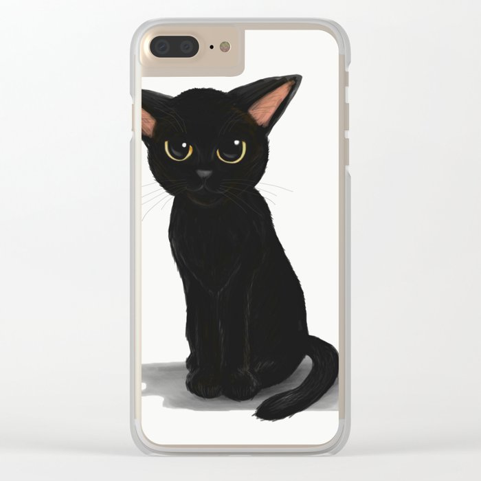 Little kitty Clear iPhone Case