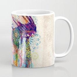 vintage mandala headdress Coffee Mug