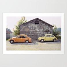 Skagway Alaska Scene Art Print