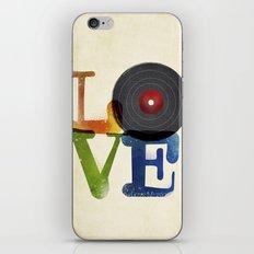 Love is Music iPhone Skin