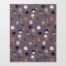 Kitty Party Canvas Print
