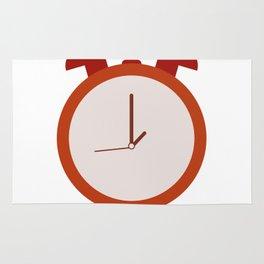 alarm clock Rug