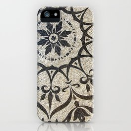 Floral Mosaic iPhone Case