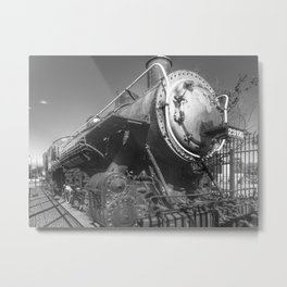 Stem Locomotive Metal Print