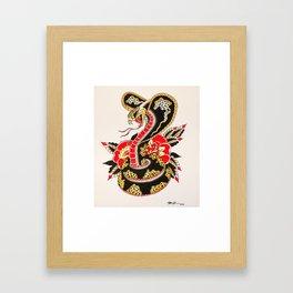 KG Art Cobra  Framed Art Print