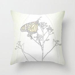 """""""Grafik 030"""" by Murray Bolesta Throw Pillow"""