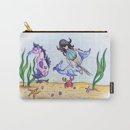 If you could breathe underwater... Carry-All Pouch