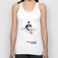 rushmore Tank Tops featuring Rushmore by joshuahillustration