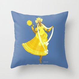 ORIXAS_ oxum Throw Pillow