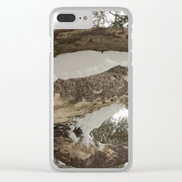 A dead pine 2 Clear iPhone Case