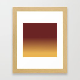 Gradient BM Framed Art Print