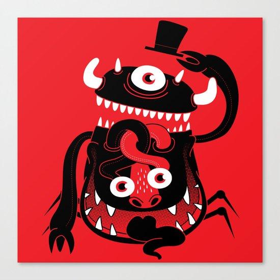 Mister Monster Canvas Print