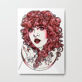 Sangria Metal Print