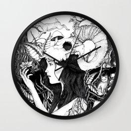 Nature goddess original Wall Clock