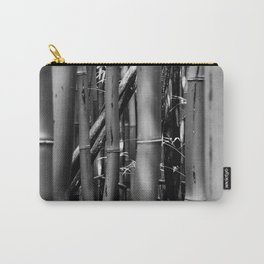 B&W Bamboo Forest Carry-All Pouch