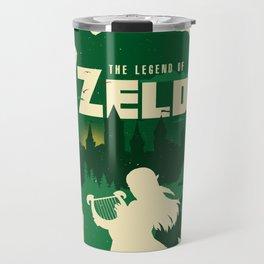 The legend of Zelda minimalist art Travel Mug