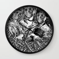 sister Wall Clocks featuring SISTER  by DIVIDUS