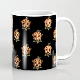 Pumpkin Head Kewpie Coffee Mug