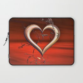 For the Love of Red Laptop Sleeve